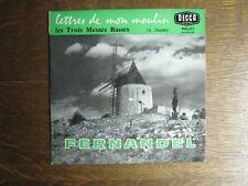 FERNANDEL EP FRANCE LES TROIS MESSES BASSES DAUDET