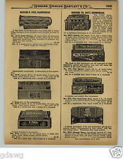 1929 PAPER AD 8 PG Holz Pohl Hohner Harmonicas Store Display Signs Flasher