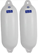 2 x Small Boat Fender 415 mm Inflatable Buffer Marine Vinyl Non Marking NEW