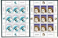 MACEDONIA - 1996 - Europa. Donne celebri in minifogli di nove
