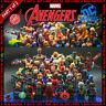 Marvel DC Comics Super Heroes 490 Building Block LEGO fits Minifigures Avengers