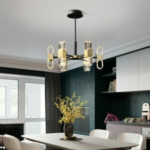 Kitchen Pendant Light Room Ceiling Lights Bar LED Lamp Black Chandelier Lighting