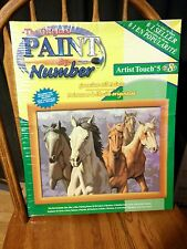 NEW - 15X20 THE ORIGINAL PAINT BY NUMBER ARTIST TOUCH 5 USA 2002 CRAFT HOUSE
