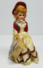 Vintage Standard Doll Company Little Hungarian Girl Doll w/ Tag 7 1/2'' Hungary
