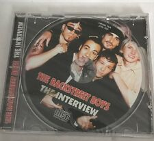 Backstreet Boys The Interview spoken word CD NEW factory sealed issue UK