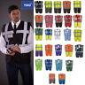 Yoko Hi-Vis Multi Functional Executive Waistcoat HVW801 - Men's Safety Workwear
