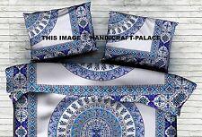 "Large Indian Urban Paisley Mandala Tapestry Cushion Pillow Cover Sham Slip 28"""