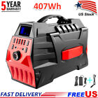 500W Portable Power Station Backup Battery Pack Solar Generator with 110V AC Out photo