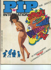 PIP International #1 Vol #3 Dec 1972 Italian adult comic humor Riccardo EB6