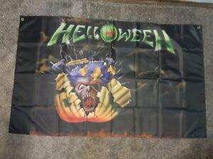 helloween flag huge 3'x5'
