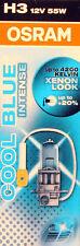 OSRAM H3 Cool Blue 55 Watt 12 Volt PKW Autolampe Licht Xenon Effekt 55W Intense