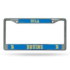 UCLA Bruins NCAA Chrome Metal License Plate Frame