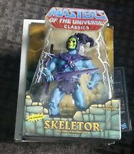 """MASTERS OF THE UNIVERSE CLASSICS """"THE ORIGINAL"""" SKELETOR SEALED FREE SHIPPING"""