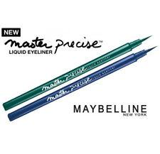 MAYBELLINE Master Precise Eyeliner Liquido Verde+Azul Delineador Ultra Fino