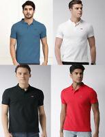 Levis Mens Cotton Short Sleeve Housemark Pique Polo Shirt T shirt top S M L XL