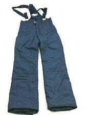 VINTAGE OBERMEYER Mens Rocky Overall Snow Pants Blue Bibs Size M 32 Inseam 90s