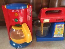 Vintage 1999 Klein Krups Cooking Land Coffee Maker And Blender Working! Rare