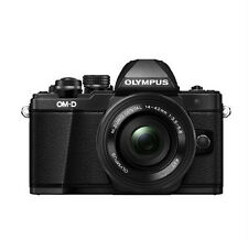 Olympus OM-D E-M10 Mark II Mirrorless Digital Camera w/ 14-42mm EZ Lens (Black)