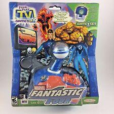 Fantastic Four MARVEL Plug & Play TV Video Game System JAKKS Pacific 2005 Unused