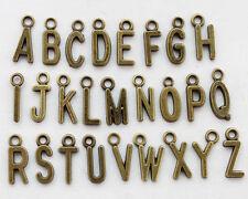 SET (A-Z) 26 Alphabet Letter Charms Pendant Accessories Jewellery Making PJ574