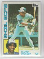 1984 Topps Baseball Toronto Blue Jays Complete Team Set