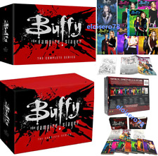 Buffy The Vampire Slayer (DVD, 39-Disc) Complete Series Season 1-7 With Book New