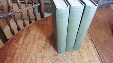 LIFE & LETTERS OF CHARLES DARWIN ORIGINAL OF SPECIES 3 VOLS FIRST EDITION 1887