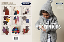 PATONS - HAND KNITS FOR MODERN KIDS PATTERN BOOK #1317