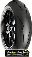 REAR 160/60/zr17 SC1 Pirelli DIABLO SUPERCORSA V2 Motorcycle RACE Tyre (soft)