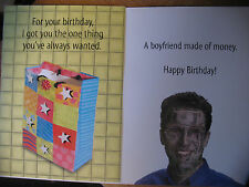 "Funny Comedy Humor Adult Birthday Card ""For Your Birthday I Got You What You ."""