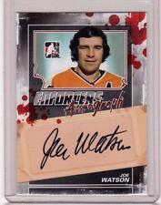 JOE WATSON 11/12 ITG Enforcers Auto Autograph A-JWA Signed Signature Hockey Card