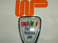 CLASSIC MINI - ITALIAN JOB BONNET BADGE DAB101130