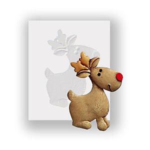 Reindeer Silicone Mould, Food Safe, Cake Decorating, Sugarcraft Mold