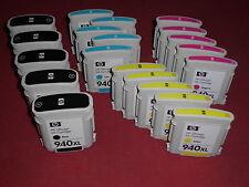 20 leere Original Drucker Patronen HP 940XL + Chip leer virgin