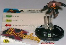 TIMBERWOLF #004 #4 Legion of Superheroes LSH DC HeroClix
