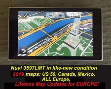 garmin nuvi 3597 2019 maps us mex canada eu lifetime maps