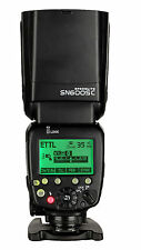 Shanny SN600SC Master Flash e-TTL HSS 1/8000s Flashgun Flash Speedlite for Canon
