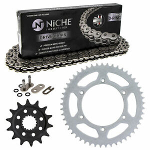 Sprocket Chain Set for Suzuki RMZ450 14/49 Tooth 520 O-Ring Rear Front Combo Kit