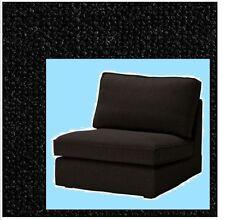 "IKEA Kivik""One Seat""Chair Cover Teno Black Sofa(MatesAvail)1 Tenö Sofa Section"