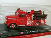 DEL PRADO 1939 BEDFORD FIRE ENGINE CITY OF LIVERPOOL 1/43