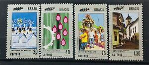 BRAZIL # 1210-1213.  FESTIVALS. MNH