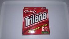 Berkley; Trilene XL Smooth Casting Fishing Line; 12 LB, 330 YD, Low Vis Green