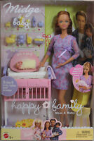 Barbie Midge and Baby 2002 Vintage Hard To Find