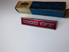 Ford Escort Mk 1 GT 1300  N.O.S. Genuine.  Guard Badge. Capri Cortina