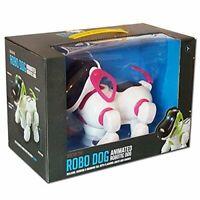Robo Dexter The Cane Bambini Elettronico Interattivo Animale Rosa Toy Giochi 3+