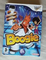 Nintendo Wii game - Boogie + Official EA Games USB Microphone