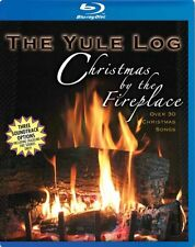 CHRISTMAS !! NEW! The Yule Log - Christmas by the Fireplace (Blu-ray Disc, 2008)