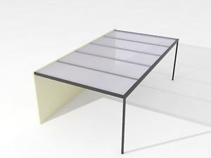 Grey/Clear/Opal/Bronze Twinwall Roofing Aluminum Pergolas/Caports Size 3m-5m