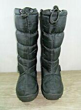 **Women's Mountain Warehouse Size 7 Black Long Snow Boots
