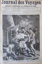 JOURNAL DES VOYAGES N° 515 de 1887 BULGARIE TORTURE BANDIT BALKANS / L ISLANDE